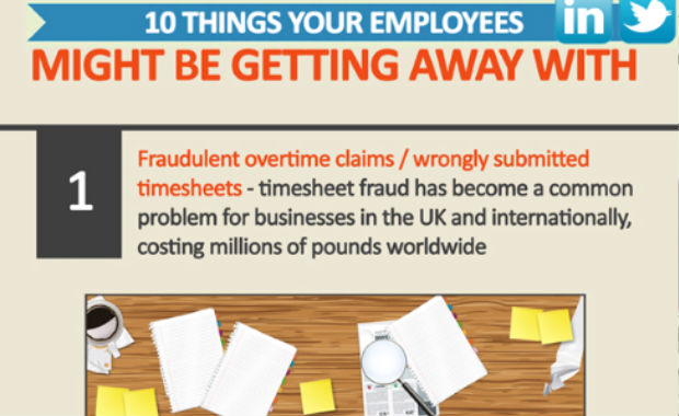 10 things your employees might be getting away with (Infographic)