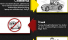Crazy Driving Laws in the USA (Infographic)
