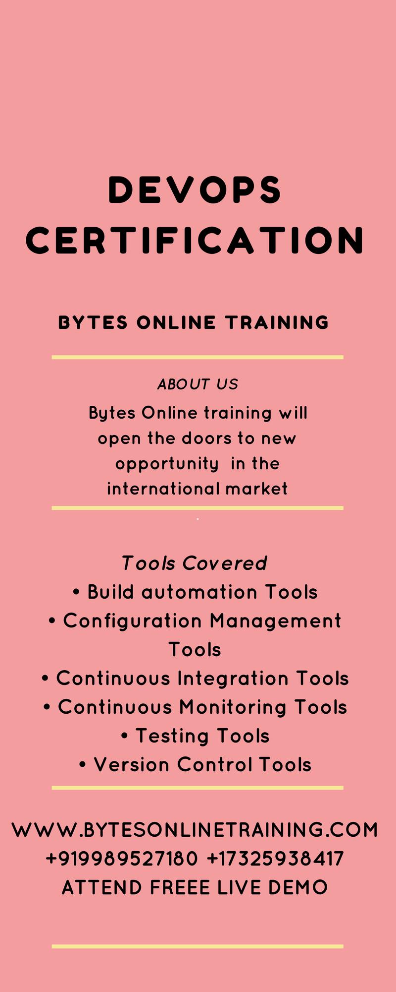 DevOps online training in Hyderabad[In-depth Knowledge