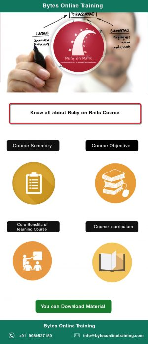 Ruby on Rails training online| Bytes Online Training