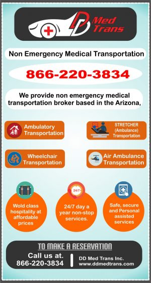 Non-Emergency Medical Transportation Service-how many Types of It?