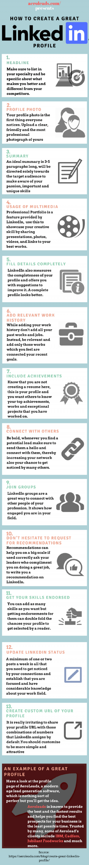 How to Create a Great LinkedIn