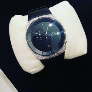 VVS diamonds studded watch specially customized