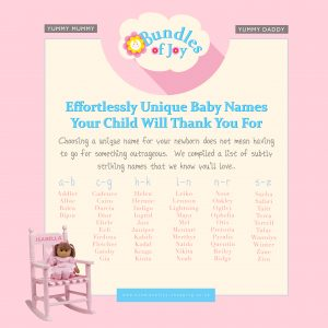 BABY NAMES 2018 [EFFORTLESSLY UNIQUE NAMES FOR BABIES]