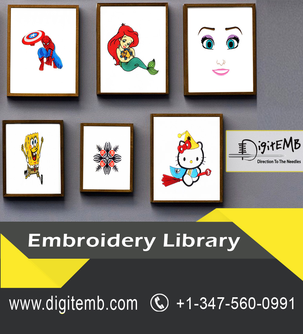 Embroidery Library Infographicas